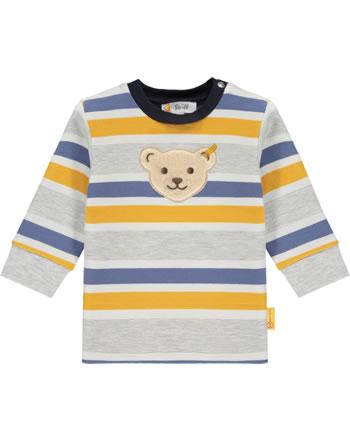 Steiff Sweatshirt LETS PLAY Baby Boys nimbus cloud 2121313-9017