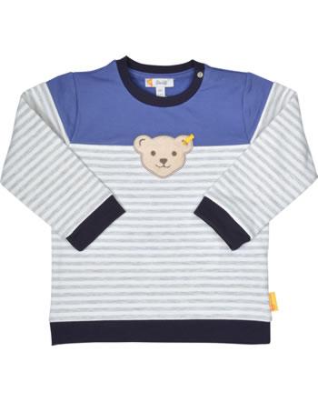 Steiff Sweatshirt LETS PLAY Baby Boys nimbus cloud 2121335-9017