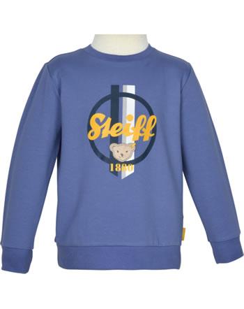 Steiff Sweatshirt LETS PLAY Mini Boys bijou blue 2121105-6066