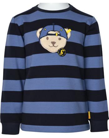 Steiff Sweatshirt LETS PLAY Mini Boys bijou blue 2121118-6066