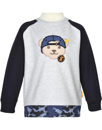 Steiff Sweatshirt LETS PLAY Mini Boys nimbus clous 2121107-9017