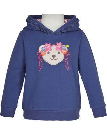 Steiff Sweatshirt m. Kapuze BUGS LIFE Mini Girls deep cobalt 2111217-6062