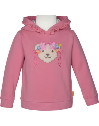 Steiff Sweatshirt m. Kapuze BUGS LIFE Mini Girls rapture rose 2111217-3028