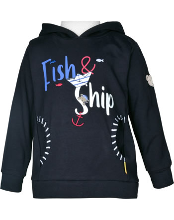 Steiff Sweatshirt m. Kapuze FISH AND SHIP Mini Boys steiff navy 2112124-3032