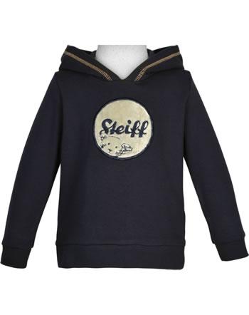 Steiff Sweatshirt with hood FOREST FRIENDS steiff navy 2023104-3032