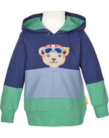 Steiff Sweatshirt m. Kapuze HIGH FIVE Mini Boys deep cobalt 2111125-6062