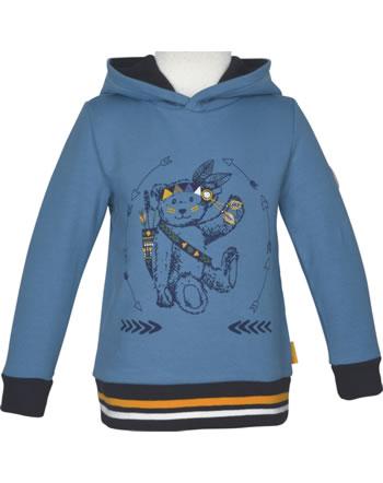 Steiff Sweatshirt m. Kapuze INDI BEAR Mini Boys coronet blue 2022107-6048