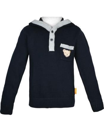 Steiff Sweatshirt with hood INDI BEAR Mini Boys steiff navy 2022119-30322
