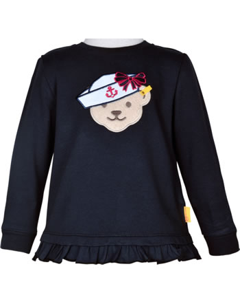 Steiff Sweatshirt MARINE AIR Mini Girls steiff navy 2112224-3032