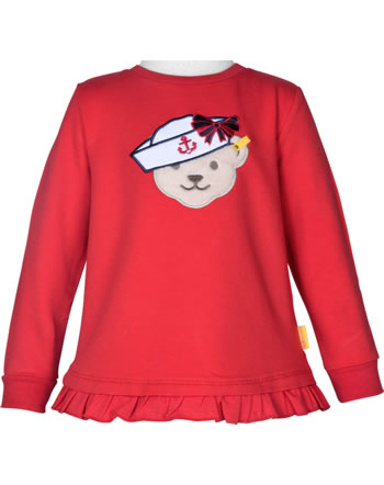 Steiff Sweatshirt MARINE AIR Mini Girls true red 2112224-4015