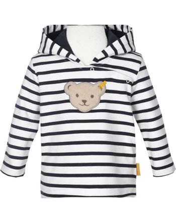 Steiff Hooded Sweatshirt MARINE AIR Baby Girls steiff navy 2112436-3032