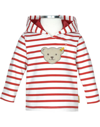 Steiff Sweatshirt mit Kapuze MARINE AIR Baby Girls true red 2112436-4015