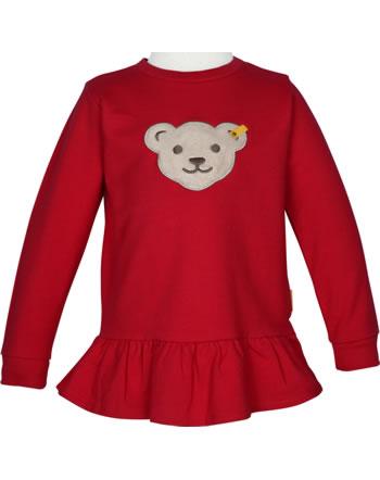 Steiff Sweatjacket Squeaker BEAR TO SCHOOL tango red 2021206-4008