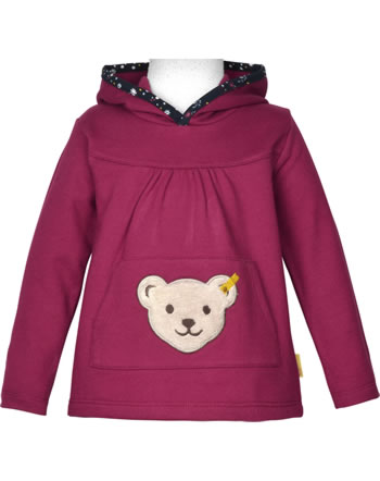 Steiff Sweatshirt mit Quietsche BLUEBERRY HILL beet red 1922605-4010
