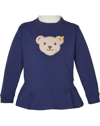 Steiff Sweatshirt mit Quietsche BUGS LIFE Mini Girls deep cobalt 2111228-6062