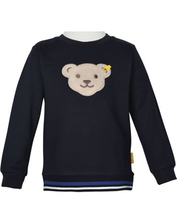 Steiff Sweatshirt mit Quietsche FISH AND SHIP Mini Boys steiff navy 2112125-3032