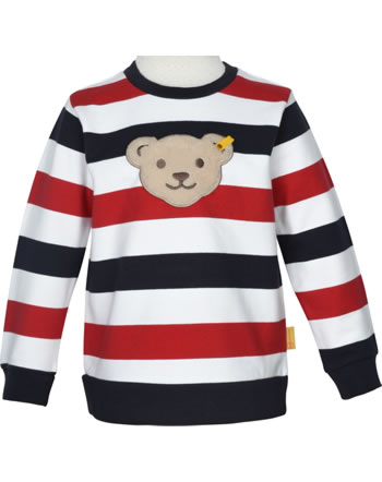 Steiff Sweatshirt mit Quietsche FISH AND SHIP Mini Boys steiff navy 2112131-3032