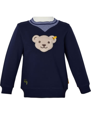 Steiff Sweatshirt mit Quietsche HELLO SUMMER Mini Boys steiff navy 2113116-3032