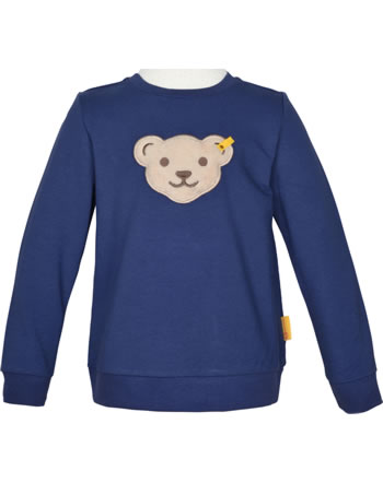 Steiff Sweatshirt mit Quietsche HIGH FIVE Mini Boys deep cobalt 2111122-6062