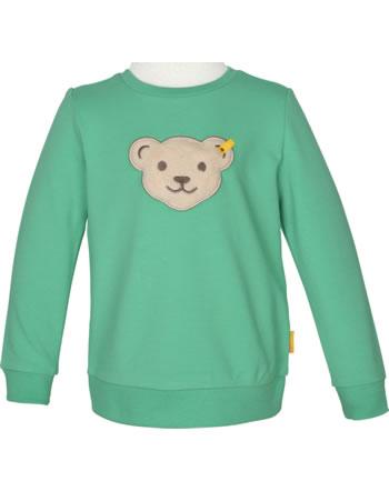 Steiff Sweatshirt mit Quietsche HIGH FIVE Mini Boys winter green 2111122-5021