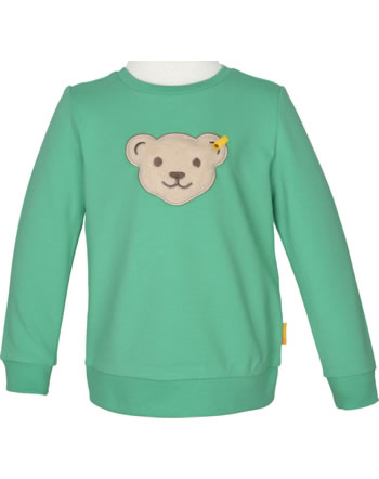 Steiff Sweatjacket Squeaker HIGH FIVE Mini Boys winter green 2111122-5021