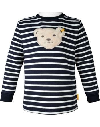 Steiff Sweatshirt mit Quietsche INDI BEAR Mini Boys steiff navy 2022106-3032