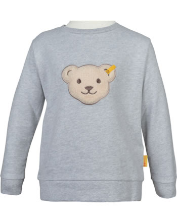 Steiff Sweatshirt mit Quietsche SEA BEAR soft grey melange 2012431-9007