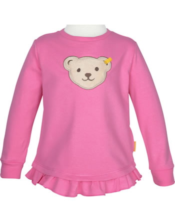 Steiff Sweatshirt mit Quietsche SWEET CHERRY pink carnation 2013423-3019