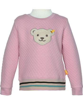 Steiff Sweatshirt mit Quietsche SWEET HEART Mini Girls pink nectar 2121205-3035