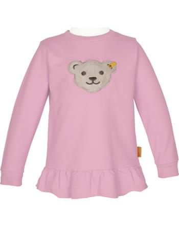 Steiff Sweatshirt mit Quietsche SWEET HEART Mini Girls pink nectar 2121206-3035