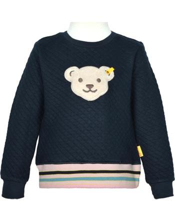 Steiff Sweatshirt mit Quietsche SWEET HEART Mini Girls steiff navy 2121205-3032