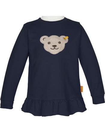 Steiff Sweatshirt mit Quietsche SWEET HEART Mini Girls steiff navy 2121206-3032