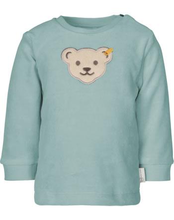 Steiff Sweatshirt ORGANIC DOTS Baby tourmaline 2122511-5023