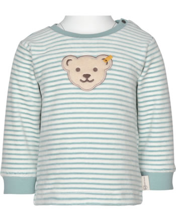 Steiff Sweatshirt ORGANIC DOTS Baby tourmaline 2122521-5023