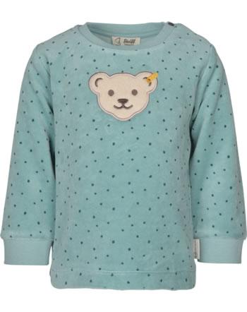Steiff Sweatshirt ORGANIC DOTS Baby tourmaline 2122522-5023