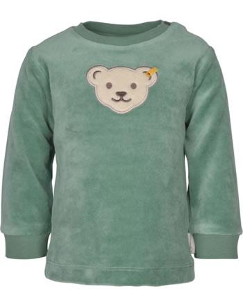Steiff Sweatshirt ORGANIC LUCKY CHARM Baby sagebrush 2122606-5024