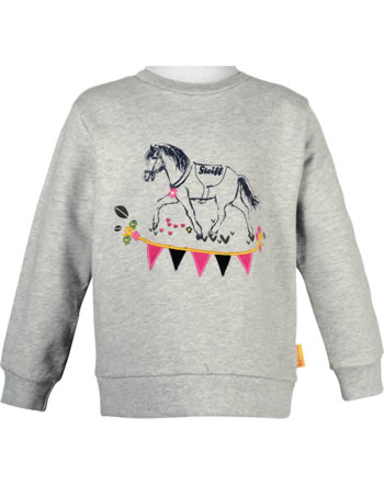 Steiff Sweatshirt PONYFUL Mini Girls soft grey melange 2022216-7046