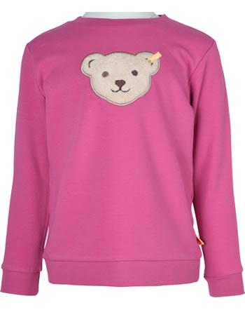 Steiff Sweatshirt Quietsche BEST FRIENDS Mini Girls claret red 2123205-3057