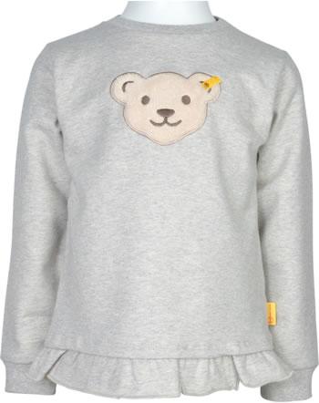 Steiff Sweatshirt Quietsche FLYING AWAY Mini Girls soft grey mel. 2122205-9007