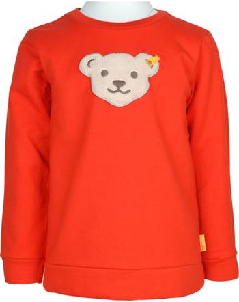 Steiff Sweatshirt Quietsche POLAR FRIENDS Mini Boys pureed pumpkin 2123105-4017