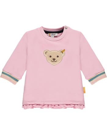 Steiff Sweatshirt SWEET HEART Baby Girls pink nectar 2121441-3035
