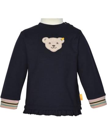 Steiff Sweatshirt SWEET HEART Baby Girls steiff navy 2121441-3032