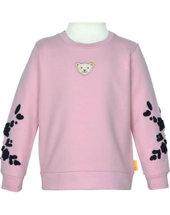 Steiff Sweatshirt SWEET HEART Mini Girls pink nectar 2121235-3035