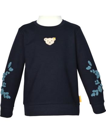 Steiff Sweatshirt SWEET HEART Mini Girls steiff navy 2121235-3032