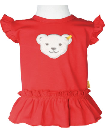 Steiff T-Shirt ärmellos MARINE AIR Baby Girls true red 2112439-4015