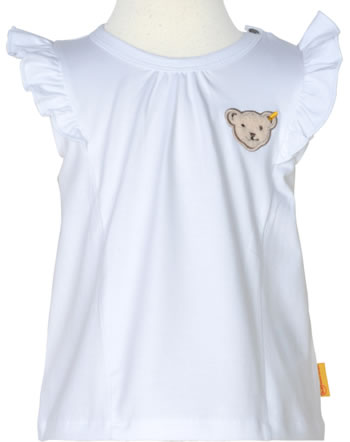 Steiff T-Shirt Flügelarm HELLO SUMMER Baby Girls bright white 2113434-1000
