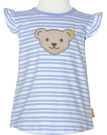 Steiff T-Shirt Flügelarm HELLO SUMMER Mini Girls brunnera blue 2113226-6043