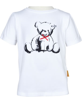 Steiff T-Shirt Kurzarm AHOI MINI! bright white 2012539-1000