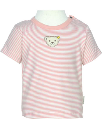 Steiff T-Shirt Kurzarm BABY GOTS UNISEX bridal rose 2112524-3030