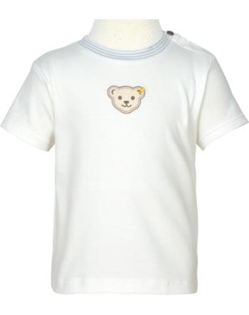 Steiff T-Shirt Kurzarm BABY GOTS UNISEX cloud dancer 2112525-1001